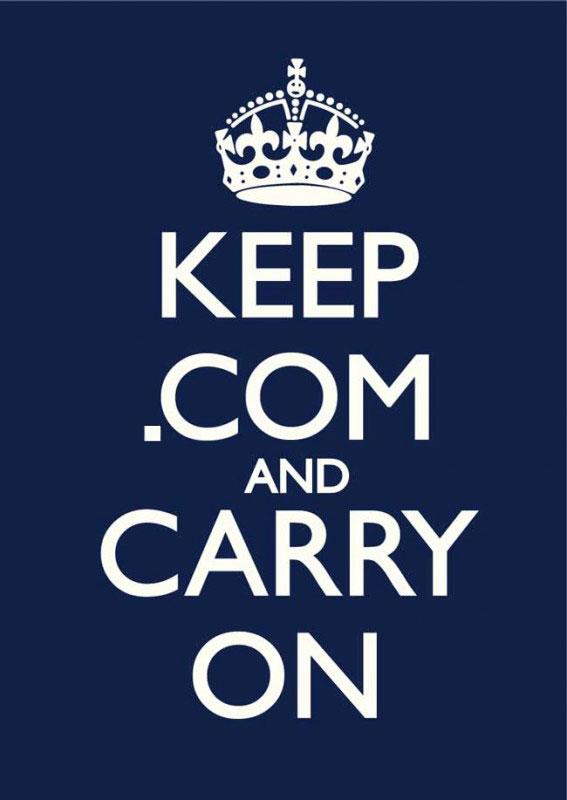 Keep .com