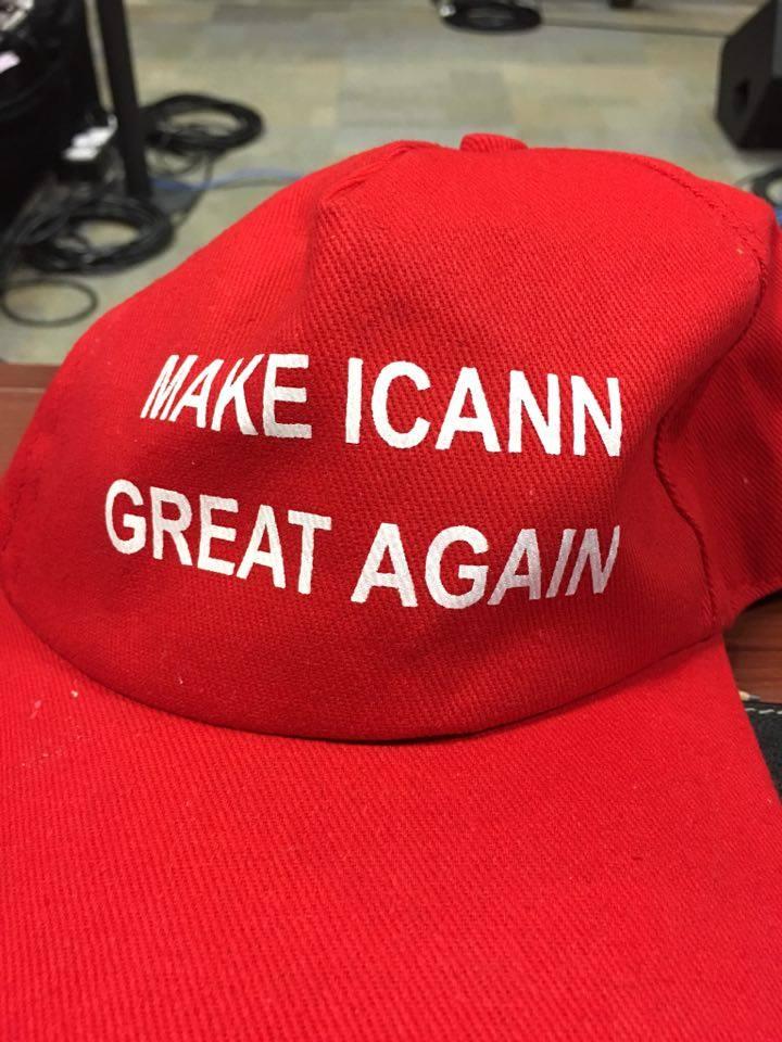 ICANN cap