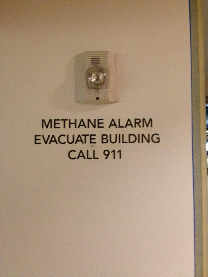 Methane Alarm